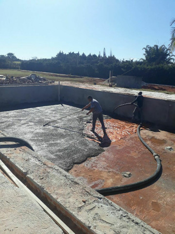 Lajes e concreto usinado - Foto 2