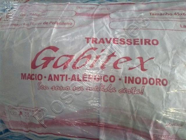 Travesseiros Gabitex Anti Alergico,Macio e Enodoro,Lavavel