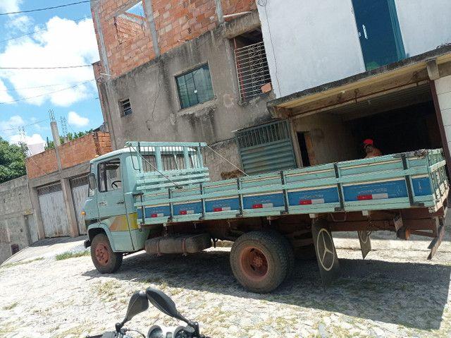 Caminhão Mercedes Benz 3/4 608 E ANO 86/86  - Foto 4