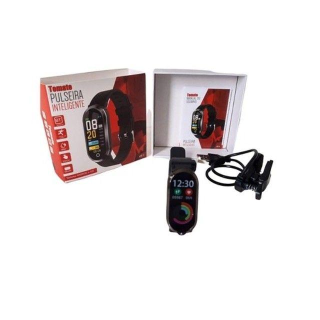 Relógio Smartwatch Tomate Bluetooth MTR-33 Preto - Foto 2