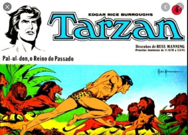 Tarzan-kit Pranchas Dominicais Russ Manning-Ebal 1976 - Foto 4
