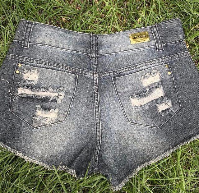 Short-saia jeans  - Foto 4