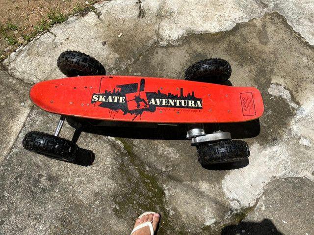 Skate elétrico 800v
