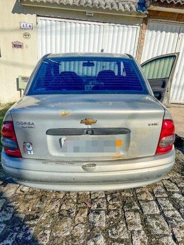 Vendo Corsa sedan 2004 completo c/ GNV - carro de mulher  - Foto 6