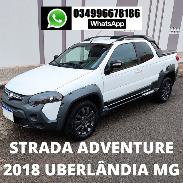 Strada Adventure Cabine Dupla (CD) 2018 Uberlândia MG
