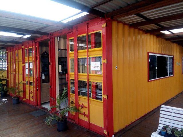 Exelente estrura em container 4 container (ESTUDAMOS PROPOSTA) - Foto 2