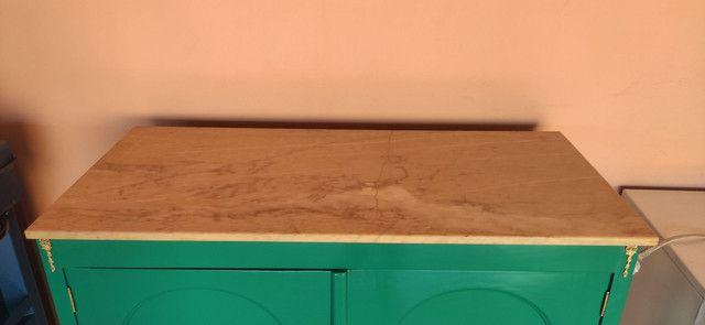 Bifet antigo laqueado em verde  - Foto 3