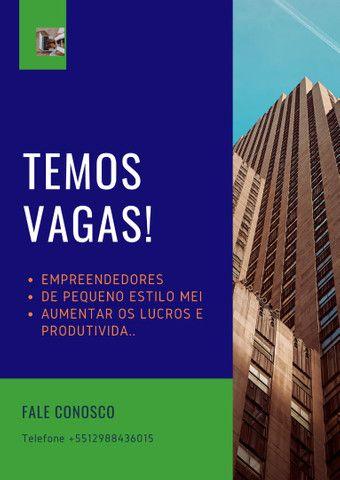Vagas de EMPREGO/PARCERIA/NEGÓCIO
