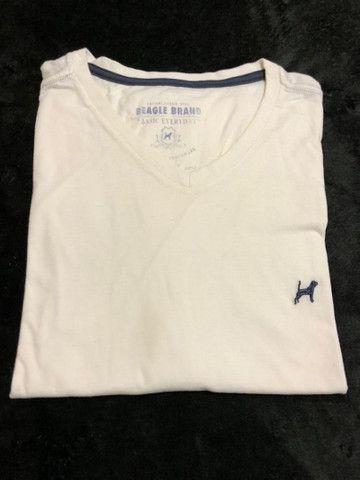 Camiseta Beagle Bege
