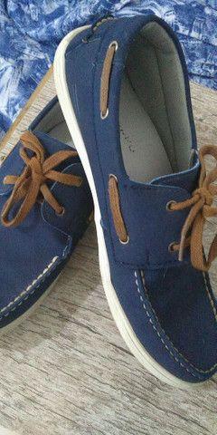 Sapato masculino tamanho 39 semi novo - Foto 2