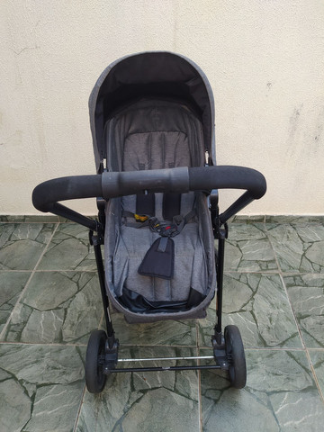Carrinho de bebê moises com bebê conforto - Foto 2