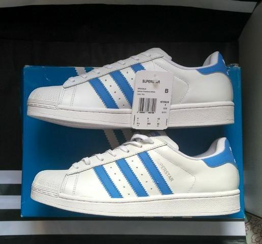 40b18b13 Tênis Adidas Originals Superstar Foundation Tam 41 (Original novo sem uso)  - Foto 2