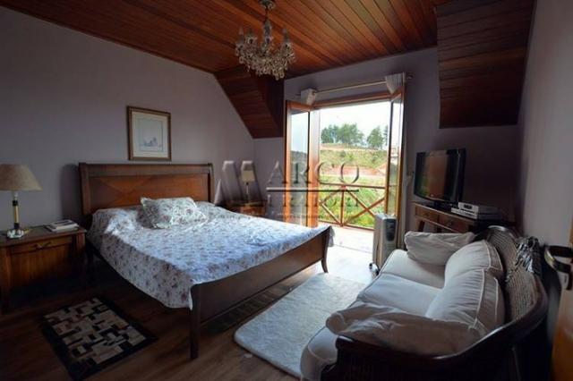 Casa em condomínio , 3 dorm + 3 quartos externos, linda vista com churrasqueira - Foto 12
