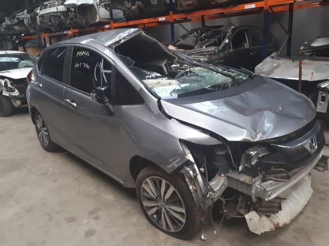 Sucata Honda Fit 2014/15 116cv 1.5 Flex - Foto 2