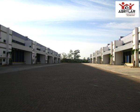 Ótimo galpão modular em condomínio logístico, industrial e comercial - jundiaí - sp - Foto 15