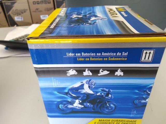 Bateria para hornet cb1000 ma8,6-ecom entrega em todo Rio! - Foto 3