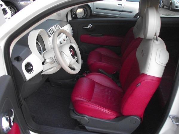 Fiat 500 Cabrio Air 1.4 Automático Conversível 13/14 Branco Cód. 7272 - Foto 14