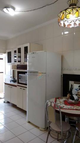 Cobertura com 3 dormitórios para alugar, 256 m² por r$ 5.000/mês - canto do forte - praia  - Foto 11