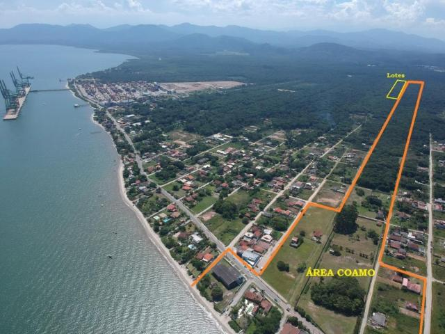 Terreno à venda para investimento, 288 m² por r$ 5.000,00 de entrada - bahamas i - itapoá/ - Foto 4