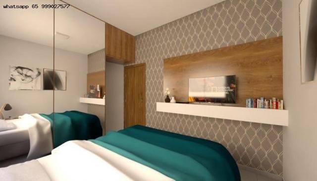 Casa para Venda em Várzea Grande, Nova Fronteira, 2 dormitórios, 1 banheiro, 1 vaga - Foto 4