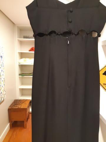 Vestido longo preto Tam 38/40