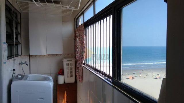 Cobertura com 3 dormitórios para alugar, 256 m² por r$ 5.000/mês - canto do forte - praia  - Foto 15