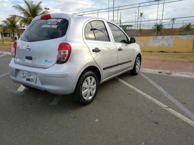 Nissan March 2011/12 Básico IPVA Pago - Foto 7