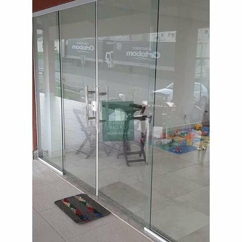 Fabricamos sobre medidas portas janelas em vidro temperado incolor verde fumê - Foto 2