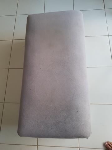 Sofá puff cinza - Foto 5