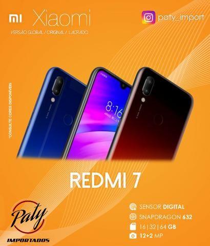 Xiaomi Redmi 7 // 16 GB // Original // Versão Global // Pronta Entrega - Paty Importados