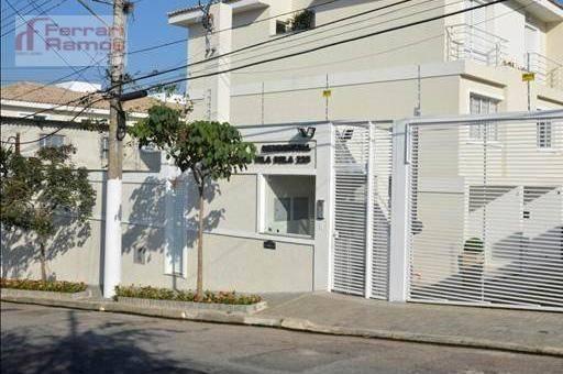 Sobrado com 2 dormitórios à venda, 110 m² por r$ 479.000,00 - vila bela - são paulo/sp