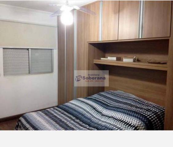 Apartamento com 2 dormitórios à venda, 69 m² por r$ 200.000,00 - chácaras campos elíseos - - Foto 7