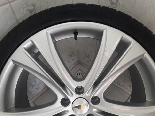 Rodas aro 20 com pneus + molas esportivas do Cruze - Foto 4