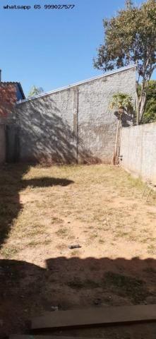 Casa para Venda em Várzea Grande, Canelas, 2 dormitórios, 1 banheiro, 2 vagas - Foto 6