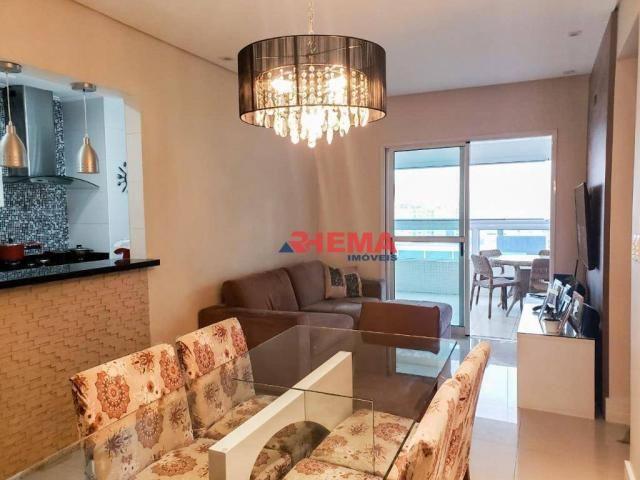 Apartamento com 2 dormitórios à venda, 64 m² por R$ 600.000,00 - José Menino - Santos/SP