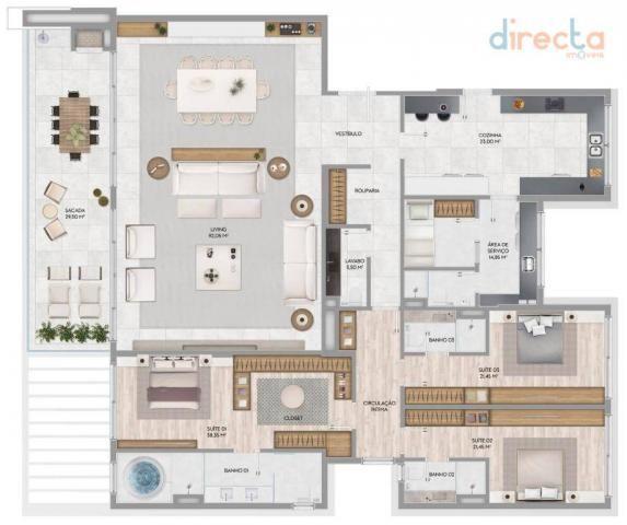 Apartamento com 3 dormitórios à venda, 285 m² por R$ 3.721.000,00 - Jurerê Internacional - - Foto 11
