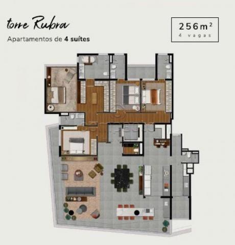 Apartamento à venda com 4 dormitórios em Iguatemi, Sao jose do rio preto cod:V10705 - Foto 19