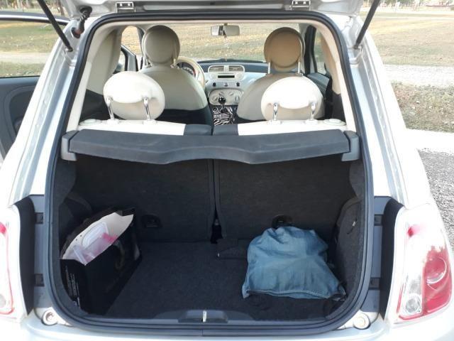 Fiat 500 única dona. 62mil km. Impecável - Foto 5