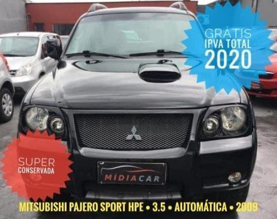 Pajero Sport HPE 3.5 Aut 2009-Super Conservada-Confira!De:R$36.900 Por:R$33.900