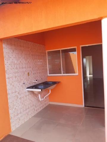 Casa para Venda em Várzea Grande, Novo Mundo, 2 dormitórios, 1 suíte, 2 banheiros, 2 vagas - Foto 12