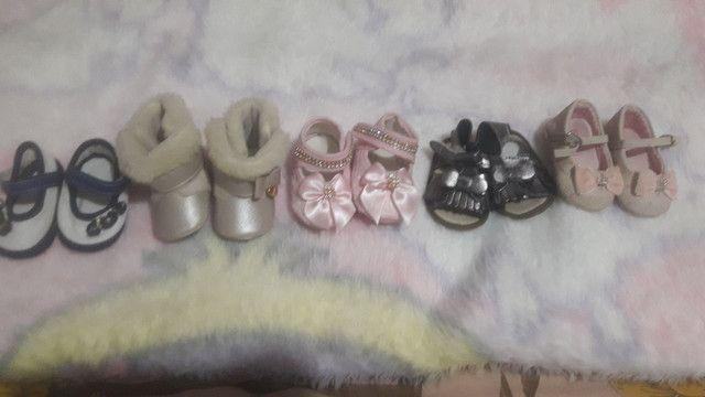 Lote sapatinhos da Lorena