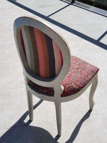 Cadeira Medalhão Antiquário - Foto 5
