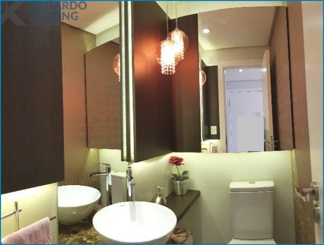 Apartamento com 3 dormitórios, 2 vagas, sacada com churrasqueira, infra completa, Dubai - Foto 5