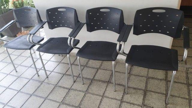 Cadeiras Cavaletti (Seminovas) - Valor Individual. - Foto 2