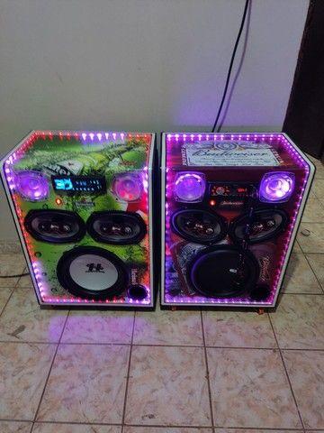 Caixas de som JC audio  - Foto 5