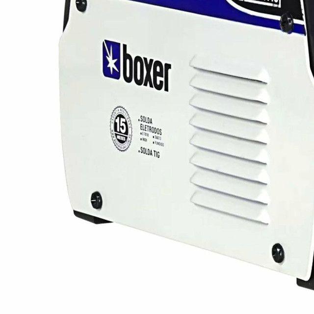 Máquina de Solda Inversora Touch 145 140A - BOXER-1510026<br><br> - Foto 5