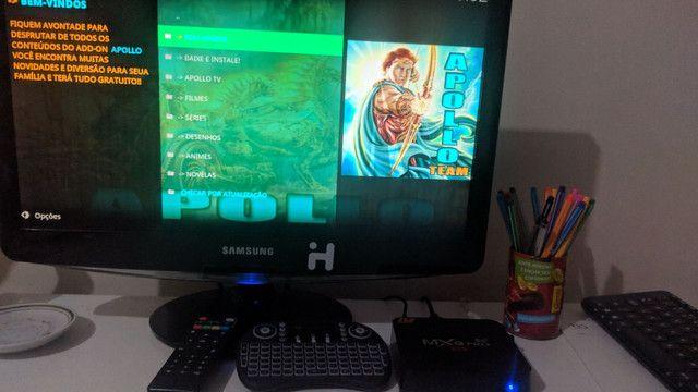 TV Box MXQ Pro + teclado wireless - Foto 3