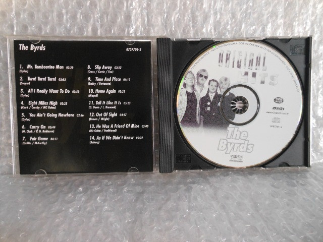 Cd The Byrds - Original Hits - Foto 3
