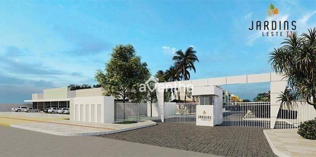 Apartamento com 3 dormitórios à venda, 59 m² por R$ 212.000 - Vale Quem Tem Zona Leste- Te - Foto 2