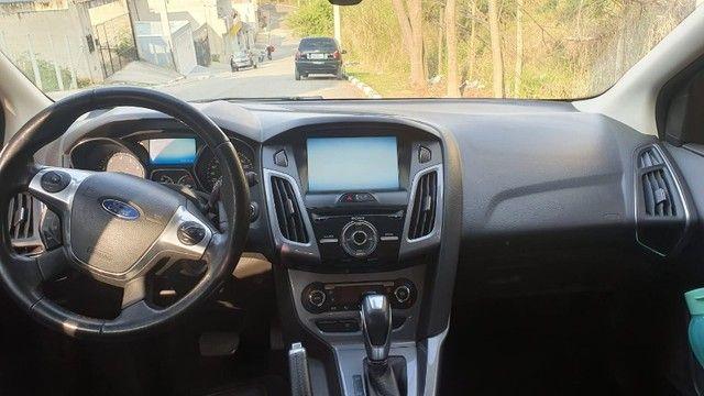 Ford Focus Titanium 2.0 Powershift + Escapamento Ford RS + Parachoque em Fibra - Foto 5